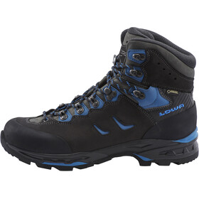 Lowa Camino GTX Zapatillas de Trekking Hombre, black/blue